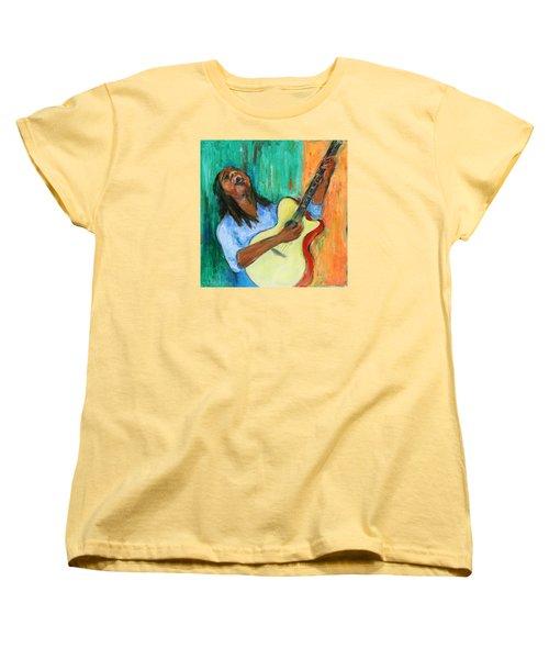 Main Stage I Women's T-Shirt (Standard Cut) by Xueling Zou