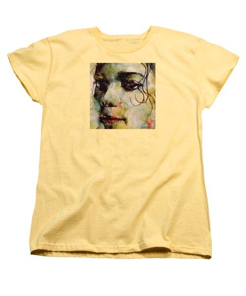 Man In The Mirror Women's T-Shirt (Standard Cut) by Paul Lovering