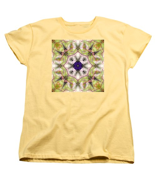 Mandala 127 Women's T-Shirt (Standard Cut) by Terry Reynoldson