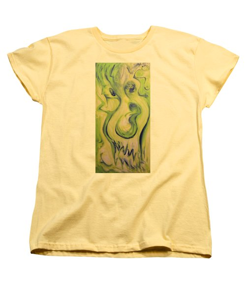 Many Faces Women's T-Shirt (Standard Cut) by Mark Minier