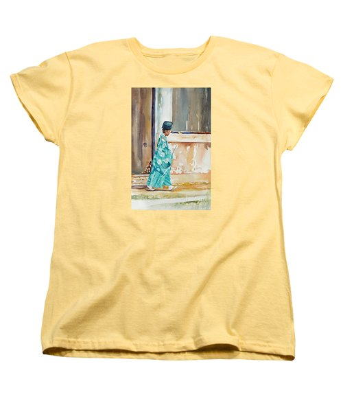 Meditation  Women's T-Shirt (Standard Cut) by Mary Haley-Rocks