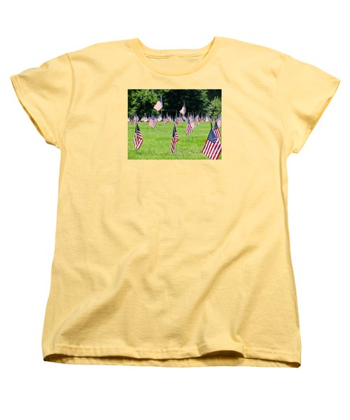 Women's T-Shirt (Standard Cut) featuring the photograph Memorial Day by Ed Weidman