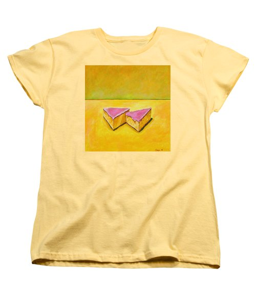 Mexican Pink Cake Women's T-Shirt (Standard Cut) by Manny Chapa