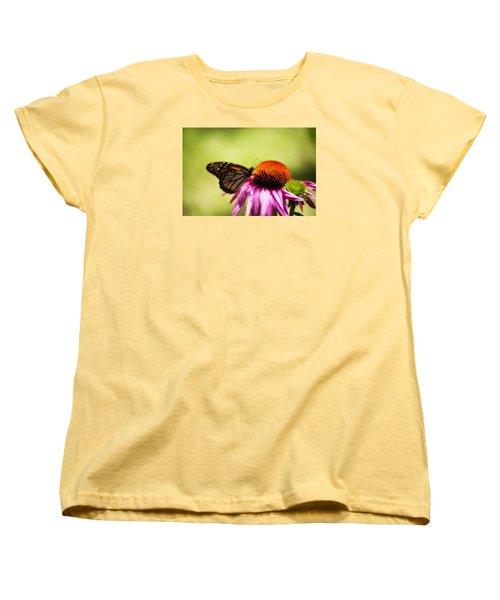 Monarch Glow Women's T-Shirt (Standard Cut) by Shelly Gunderson
