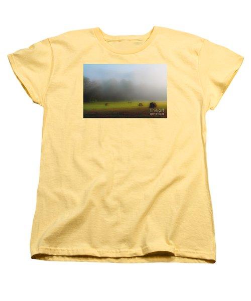 Morning In The Cove Women's T-Shirt (Standard Cut)