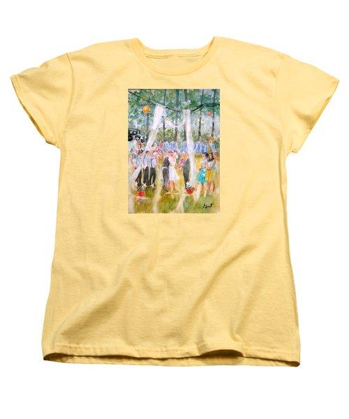 Mr. And Mrs. Matt Parker Women's T-Shirt (Standard Cut) by Gertrude Palmer