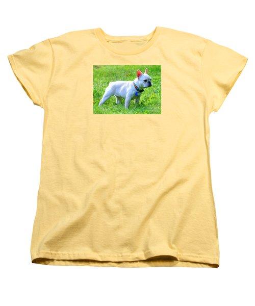 Ms. Quiggly - French Bulldog Women's T-Shirt (Standard Cut)
