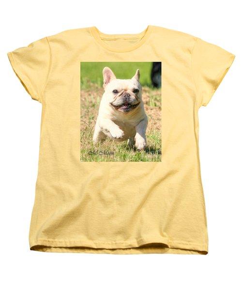 Ms. Quiggly's Olympic Run Women's T-Shirt (Standard Cut)