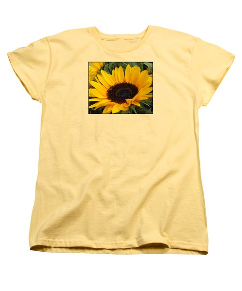 My Sunshine Women's T-Shirt (Standard Cut) by Dora Sofia Caputo Photographic Art and Design
