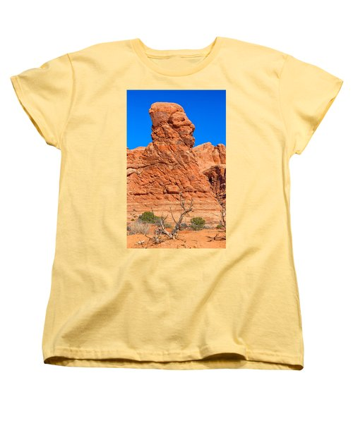 Women's T-Shirt (Standard Cut) featuring the photograph Natural Sculpture by John M Bailey