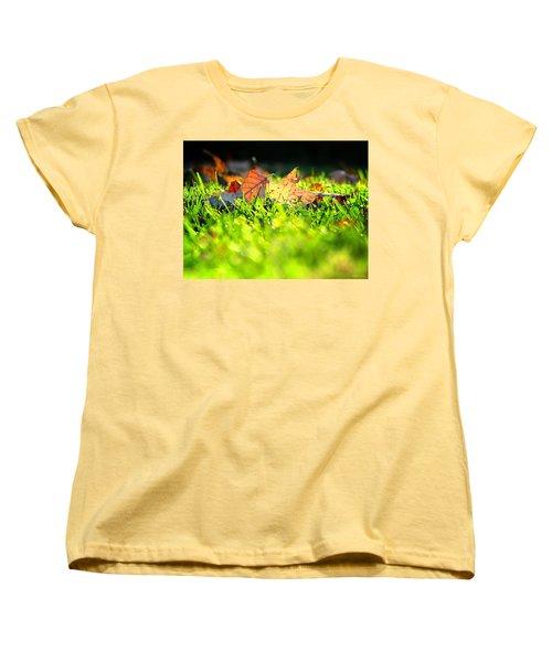Women's T-Shirt (Standard Cut) featuring the photograph Nestled by Greg Simmons