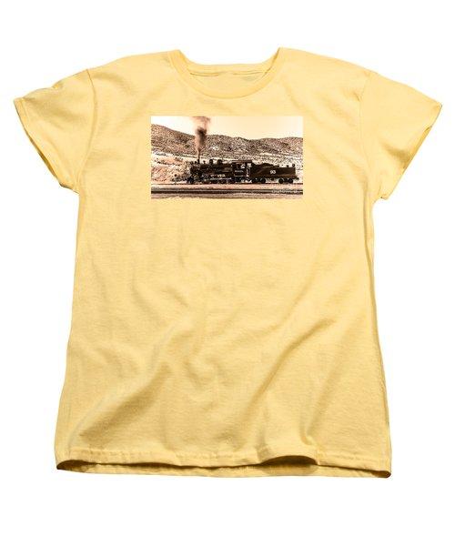Nevada Northern Railway Women's T-Shirt (Standard Cut) by Robert Bales