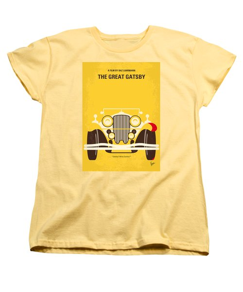No206 My The Great Gatsby Minimal Movie Poster Women's T-Shirt (Standard Cut)