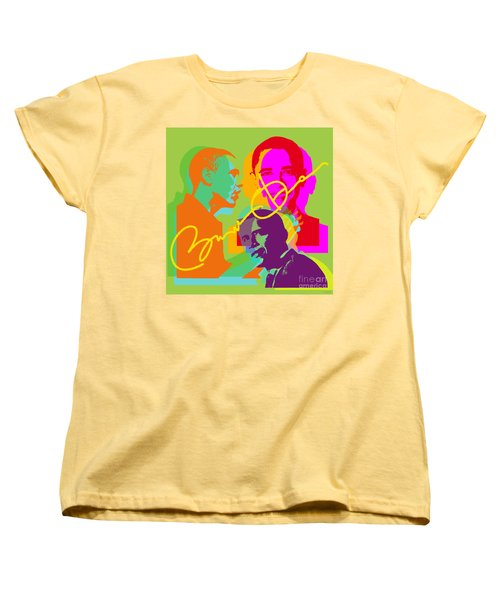 Obama Women's T-Shirt (Standard Cut) by Jean luc Comperat