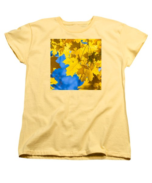 October Blues 8 - Square Women's T-Shirt (Standard Cut) by Alexander Senin