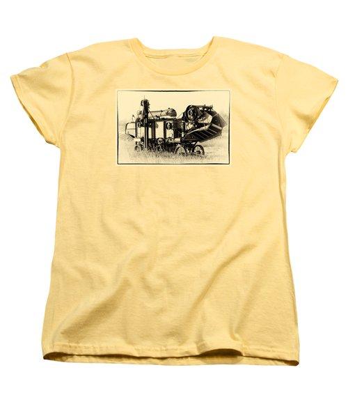 Old Case Thresher Women's T-Shirt (Standard Cut) by Bill Kesler