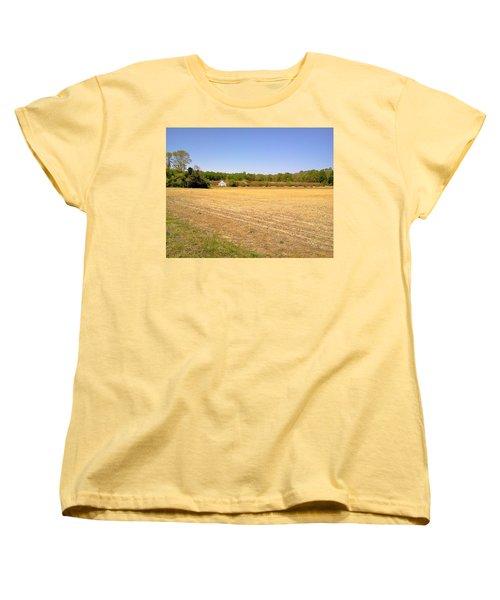 Old Chicken Houses Women's T-Shirt (Standard Cut) by Amazing Photographs AKA Christian Wilson