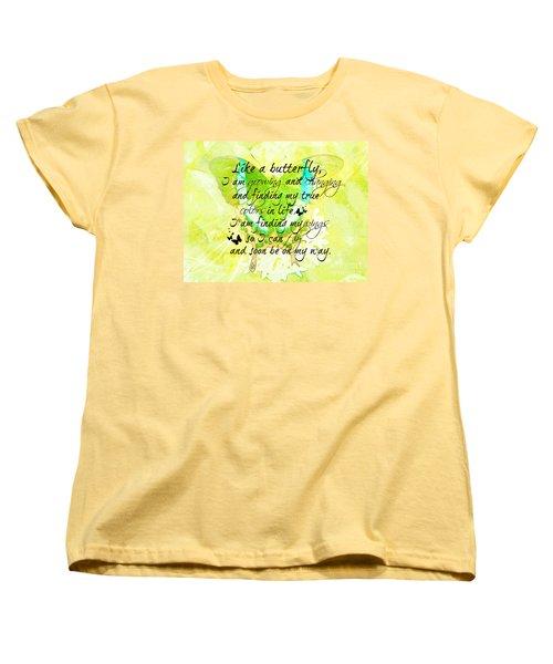 On My Way Women's T-Shirt (Standard Cut) by Tina  LeCour