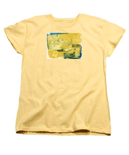 Pass Go Women's T-Shirt (Standard Cut) by Caitlyn  Grasso