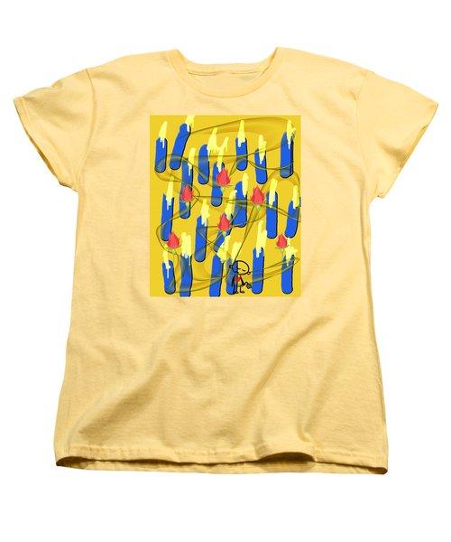 Peace Will Find A Way Women's T-Shirt (Standard Cut)