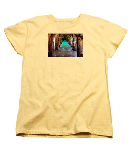 Pillars Of Time Women's T-Shirt (Standard Cut)