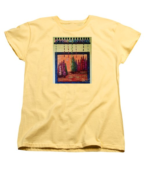 Polished Forest Women's T-Shirt (Standard Cut) by Jasna Gopic