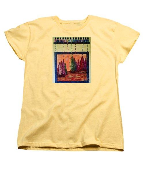 Polished Forest Women's T-Shirt (Standard Cut)