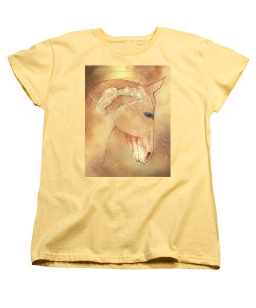 Poll Meet Atlas Axis Women's T-Shirt (Standard Cut) by Catherine Twomey