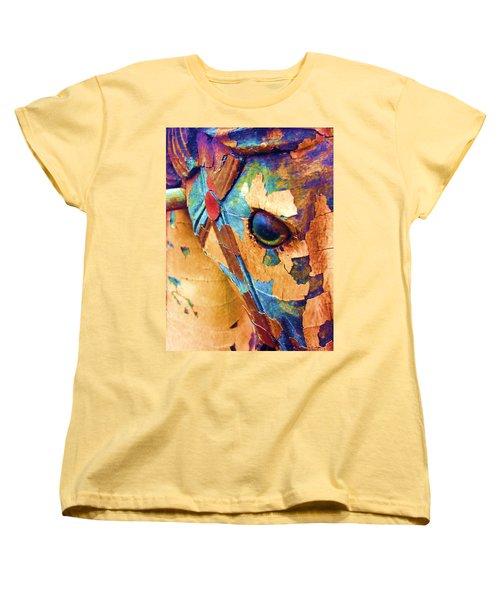 Pony Women's T-Shirt (Standard Cut) by Julio Lopez