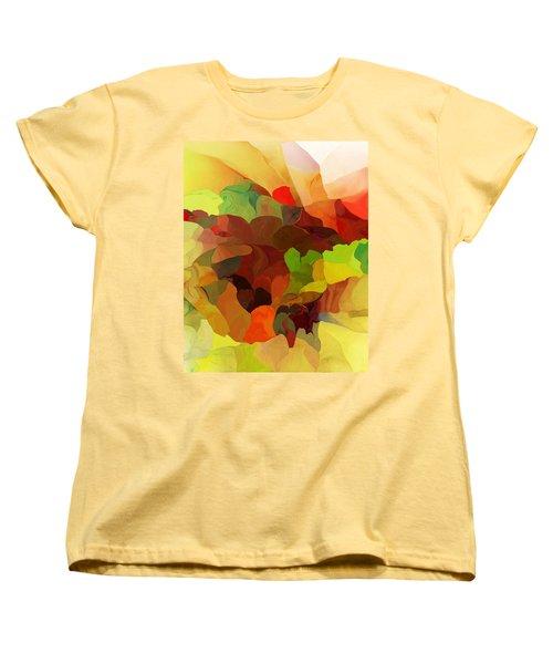Women's T-Shirt (Standard Cut) featuring the digital art Popago by David Lane
