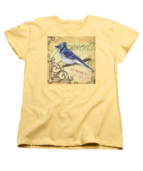 Pretty Bird 4 Women's T-Shirt (Standard Cut) by Debbie DeWitt