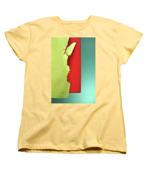Women's T-Shirt (Standard Cut) featuring the photograph Primary by CML Brown