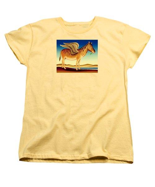 Quagga Women's T-Shirt (Standard Cut) by Frances Broomfield