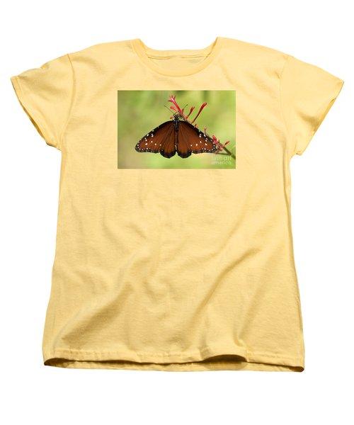 Queen Butterfly Women's T-Shirt (Standard Cut) by Meg Rousher