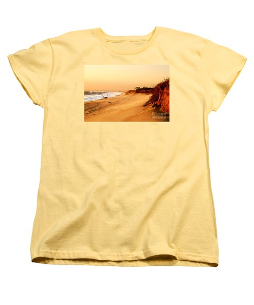 Quiet Summer Sunset Women's T-Shirt (Standard Cut) by Sabine Jacobs