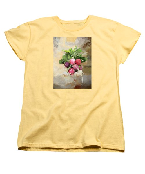 Radishes Women's T-Shirt (Standard Cut) by Enzie Shahmiri