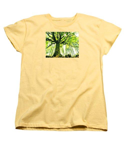 Raised By The Light Women's T-Shirt (Standard Cut) by Catherine Lott