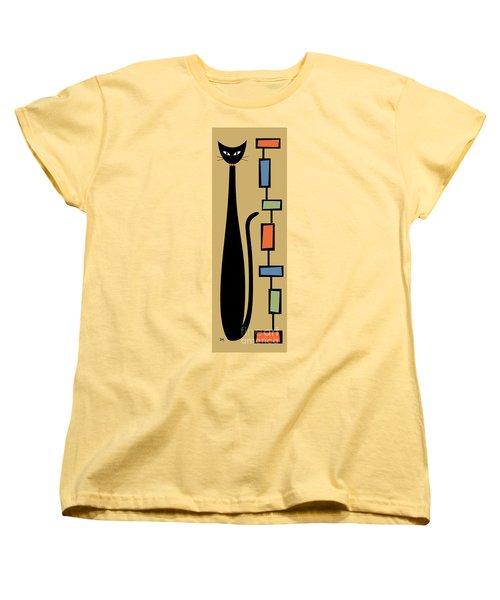 Rectangle Cat 2 Women's T-Shirt (Standard Cut)