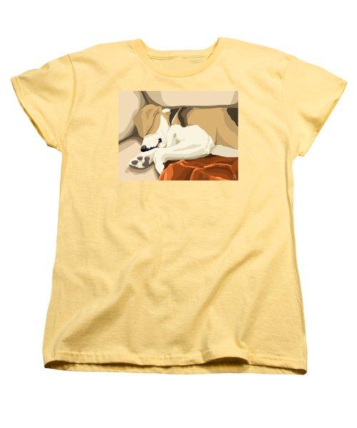 Rest Women's T-Shirt (Standard Cut) by Veronica Minozzi