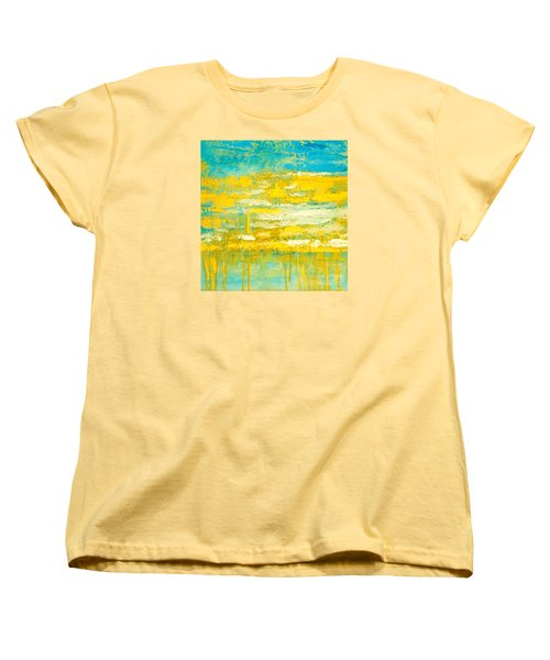 River Of Praise Women's T-Shirt (Standard Cut) by Donna Dixon