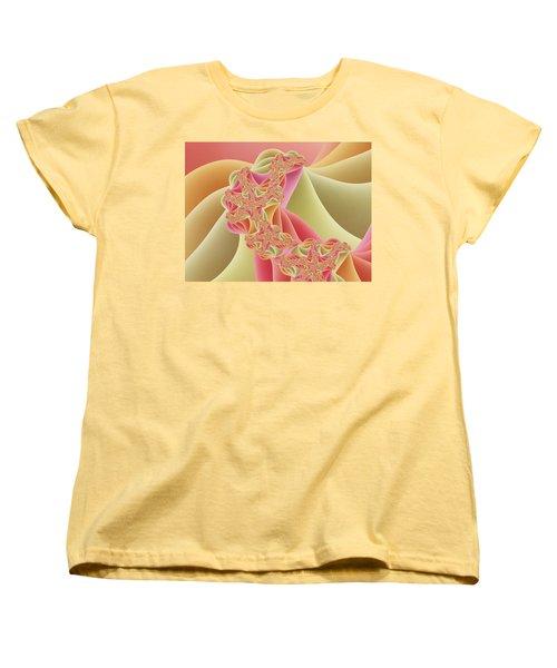 Women's T-Shirt (Standard Cut) featuring the digital art Romance by Gabiw Art