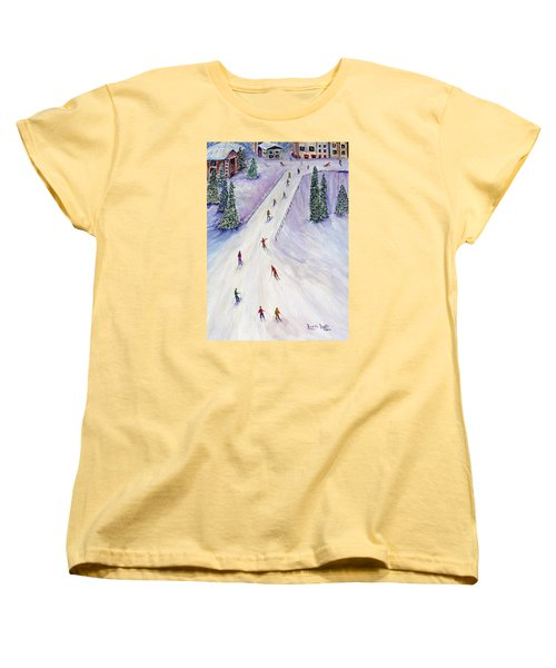 Rush Hour Women's T-Shirt (Standard Cut) by Loretta Luglio