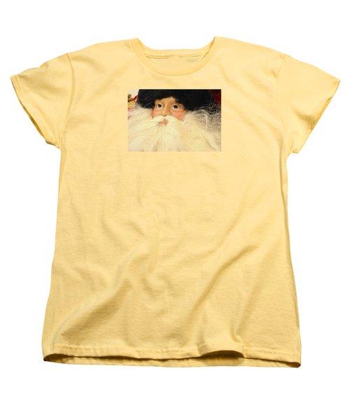 Women's T-Shirt (Standard Cut) featuring the photograph Russian Santa by Nadalyn Larsen