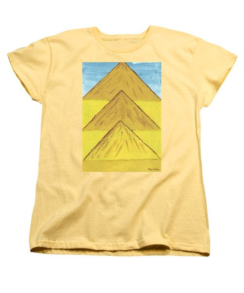 Sand Mountains Women's T-Shirt (Standard Cut) by Tracey Williams