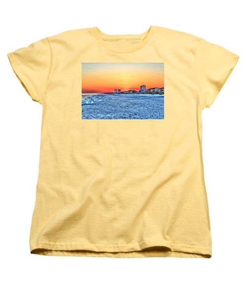 Sandy Sunset Women's T-Shirt (Standard Cut)
