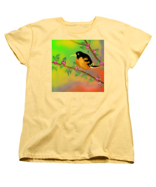 Women's T-Shirt (Standard Cut) featuring the digital art Save My Beautiful World by Latha Gokuldas Panicker