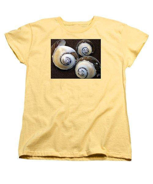 Seashells Spectacular No 23 Women's T-Shirt (Standard Cut) by Ben and Raisa Gertsberg