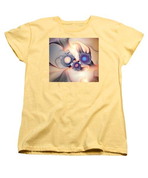 Sensorial Nirvana Women's T-Shirt (Standard Cut) by Casey Kotas