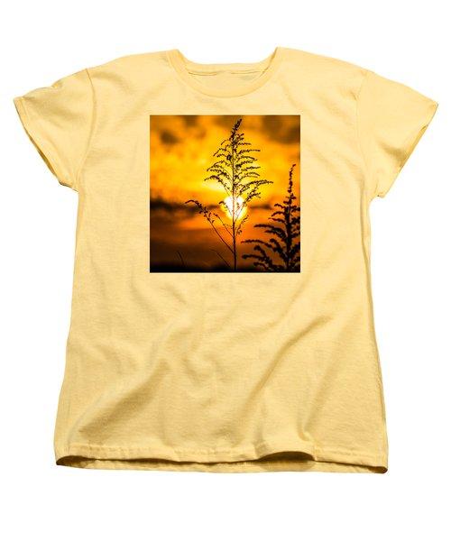 Setting Sun Women's T-Shirt (Standard Cut) by Parker Cunningham