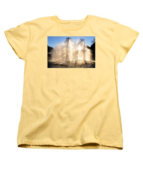 Women's T-Shirt (Standard Cut) featuring the photograph Shadow Play by Charlotte Schafer
